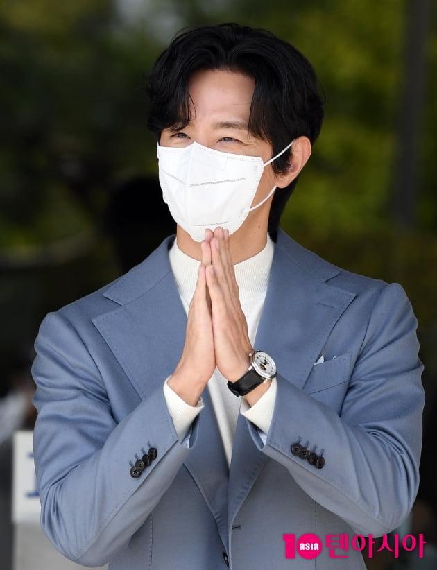 [TEN 포토] 권율 '드라마 잘 부탁드려요'
