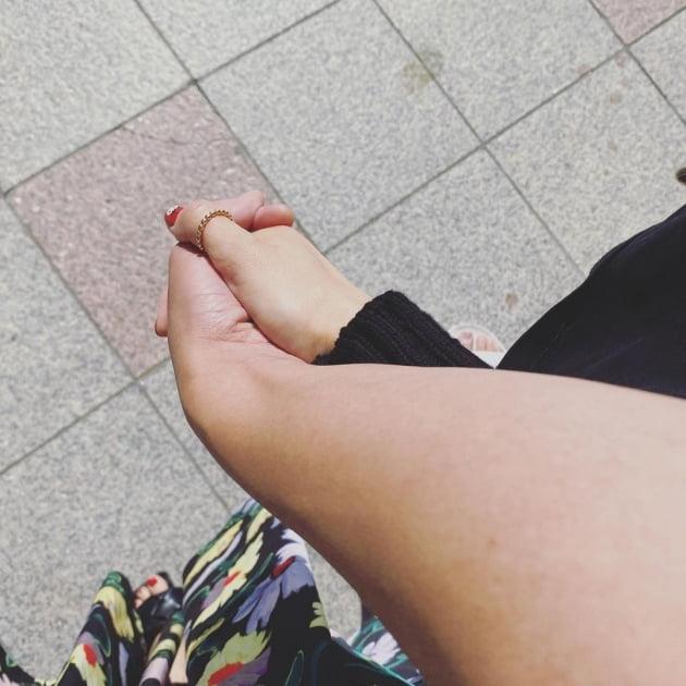"""장영란, ♥한의사 남편 손 붙잡고 """"짝꿍과 함께 미팅""""…""""부부 이야기 책 낸다"""" [TEN★]"""