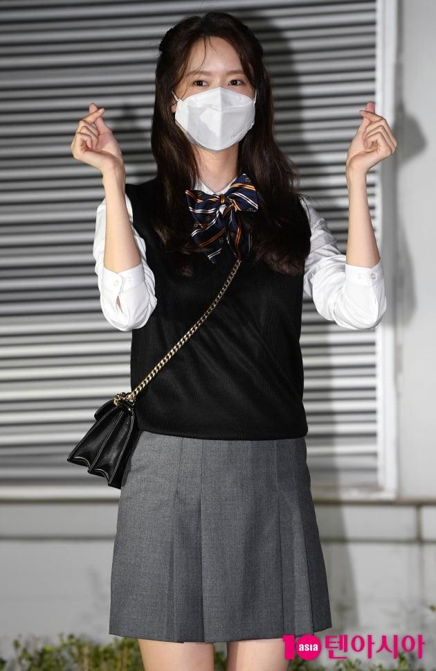 [TEN 포토] 윤아 '영화 '기적' 사랑해주세요'