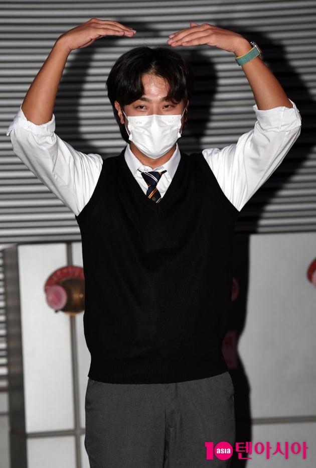 [TEN 포토] 박정민 '풍성한 한가위 보내세요'