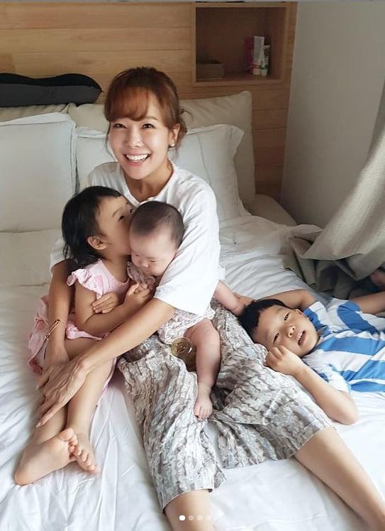 백종원♥소유진, 삼남매 사랑이 넘치는 가족...애들 어릴때 생각 나[TEN★]