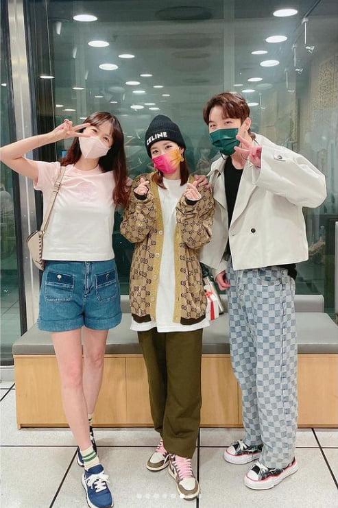 '39Kg' 산다라박, 박소현과 데칼코마니...진짜 말랐다[TEN★]