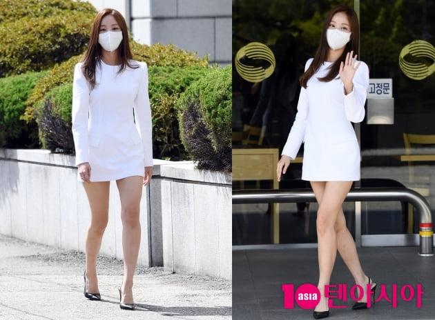 [TEN 포토+] 연우, 초미니 원피스로 시선강탈...이민호와 열애설 후 첫 공식석상