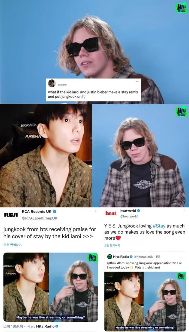 """방탄소년단 정국 'Stay' 열창→원곡자 """"영상 봤다, 컬래버 끝내 줄 듯"""""""