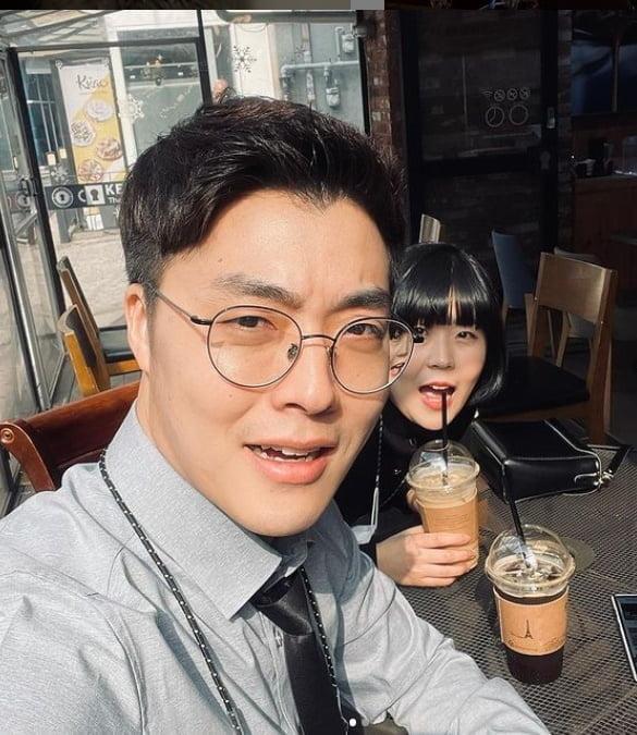 개그맨 하준수(왼쪽), 안가연/ 사진=인스타그램 캡처