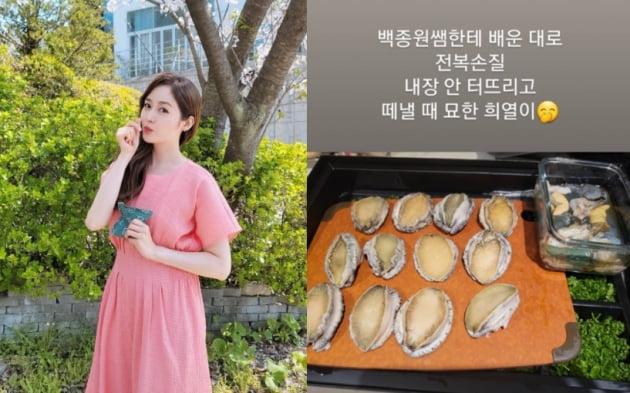 배우 성유리(왼쪽)/ 사진=인스타그램