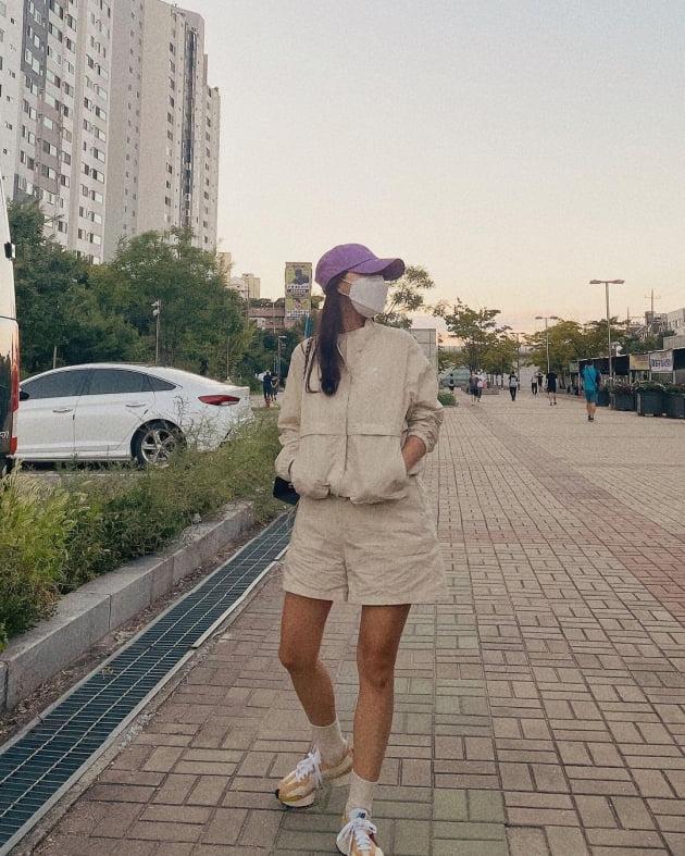 """'박성광♥' 이솔이, 추석 앞두고 """"돗자리 펴고"""" 눕고 싶어진 새댁 """"해피"""" [TEN★]"""