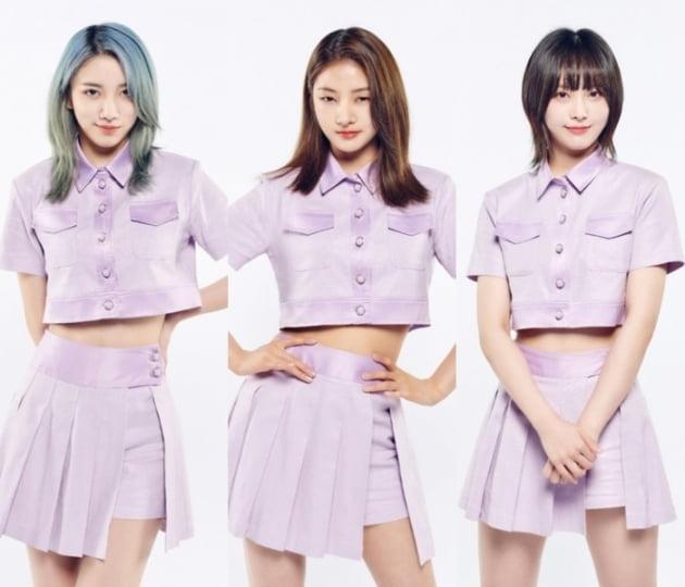 '걸스플래닛' C그룹 수루이치(왼쪽부터), 차이빙, 왕야러 / 사진제공=Mnet