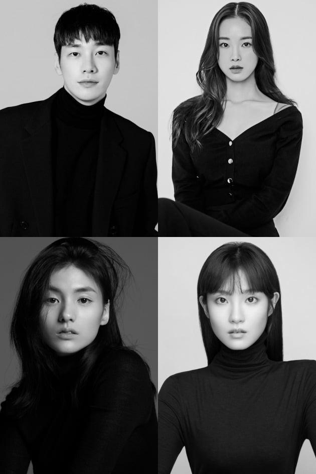 배우 김영광(왼쪽 위부터 차례로), 강해림, 김용지, 김수연 / 사진제공=각 소속사