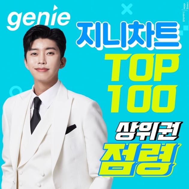 임영웅, 지니차트 TOP 100 점령…'이나믿', '별나사' 등 12곡 상위 랭크