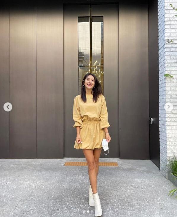 '23kg 뺀' 김빈우, 워킹맘의 일상...이쁜옷 입으니 행복 UP[TEN★]