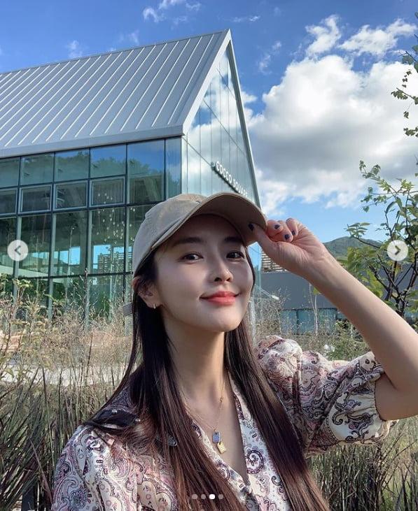 '강타♥' 정유미, 가을햇살 보다 아름다운 비주얼...분위기 여신[TEN★]