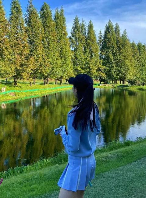"""""""내 꿈은 골프왕""""…장예원, 골프웨어 소화력도 아나운서 답게 [TEN★]"""