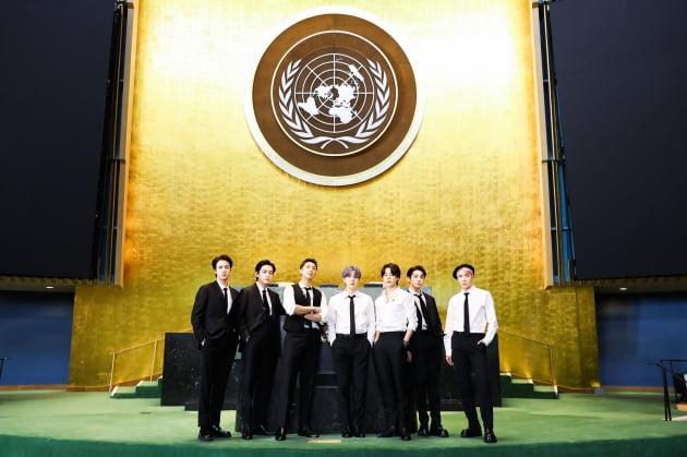 [공식]'K-컬처의 전령' 방탄소년단, 유엔총회 연설·특사 활동 마치고 귀국