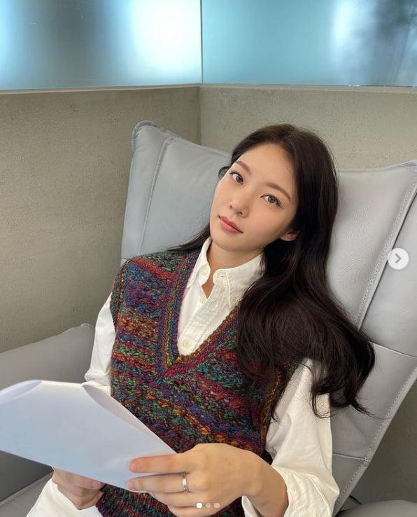 공승연, 오늘도 예쁨...인형같은 만찢녀[TEN★]