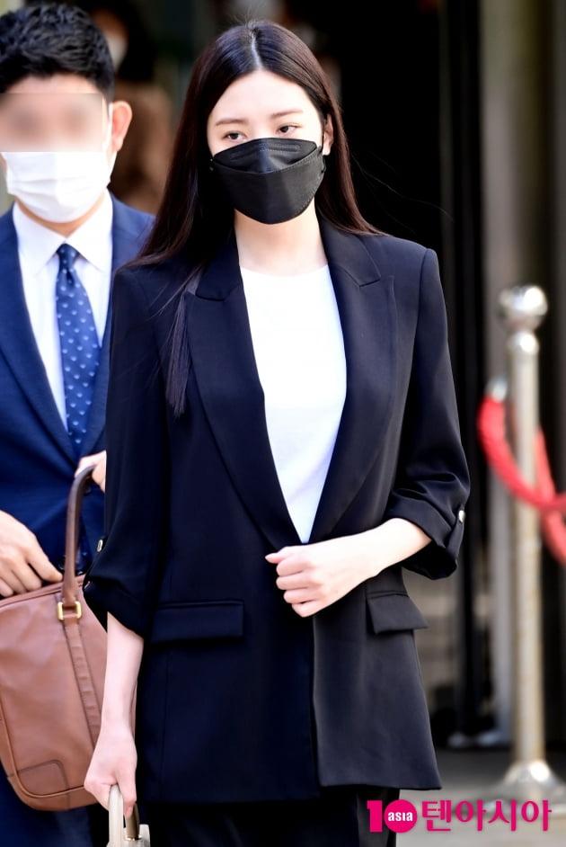 [TEN 포토] '음주운전' 리지 '징역 1년 구형 '언행 불일치 죄송''