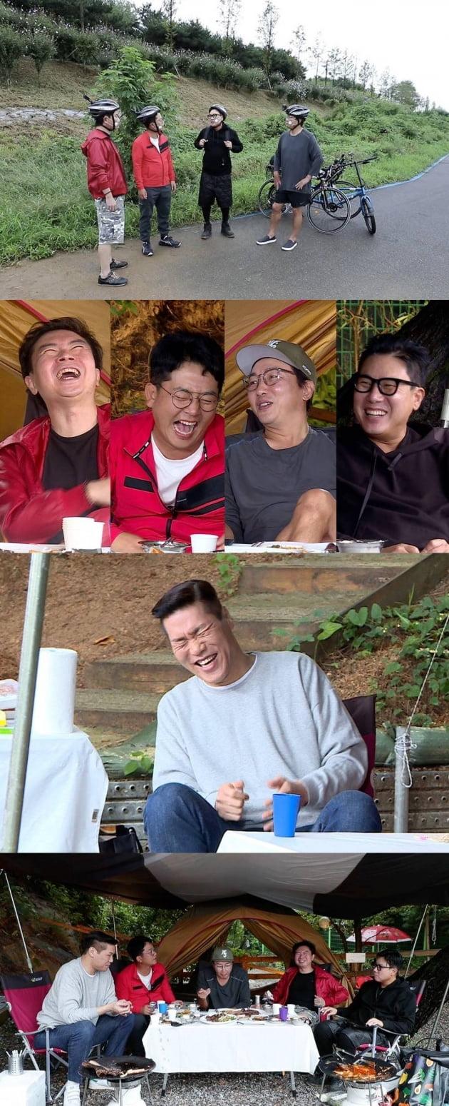 '돌싱포맨' 자전거 여행 편/ 사진=SBS 제공