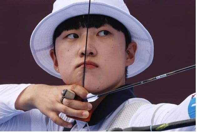 양궁선수 안산/ 사진=국제올림픽위원회 인스타그램
