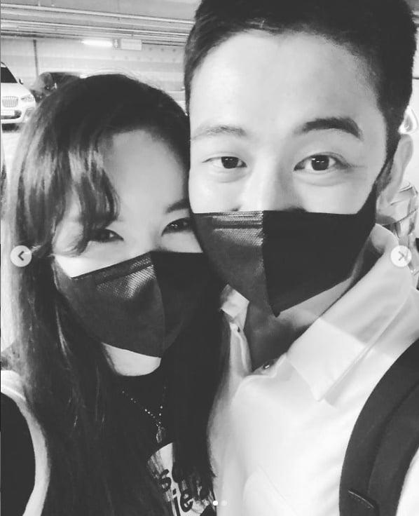 '한창♥' 장영란, 부부는 닮아간다더니...오븟한 데이트중[TEN★]