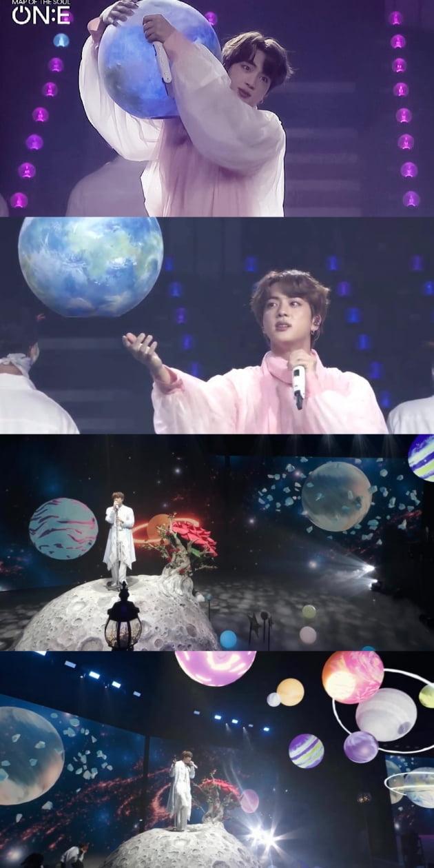 방탄소년단 진, '퍼미션 없이 춤출 수 있는 날이 다가와요.' 2년만의 오프라인 콘서트 예고