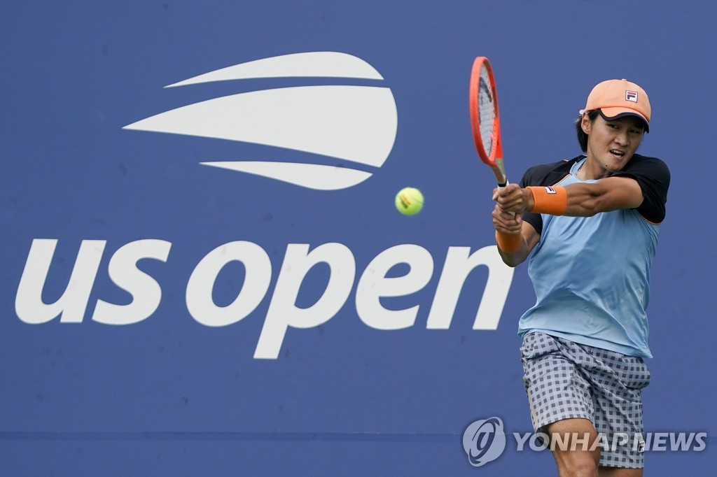 권순우, US오픈 테니스 1회전서 세계 24위 오펠카에 져 탈락