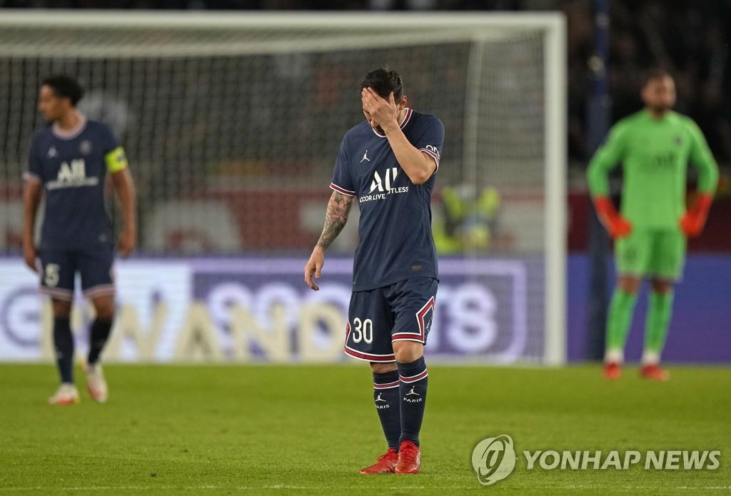 '메시 골대 불운' PSG, 이카르디 극장골에 '개막 6연승'