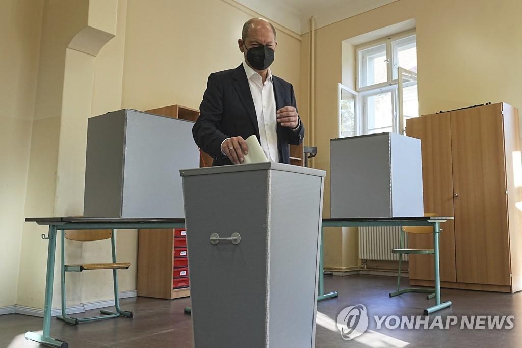 독일 슈퍼총선 개시…16년만에 사민당 주도로 정권교체 되나