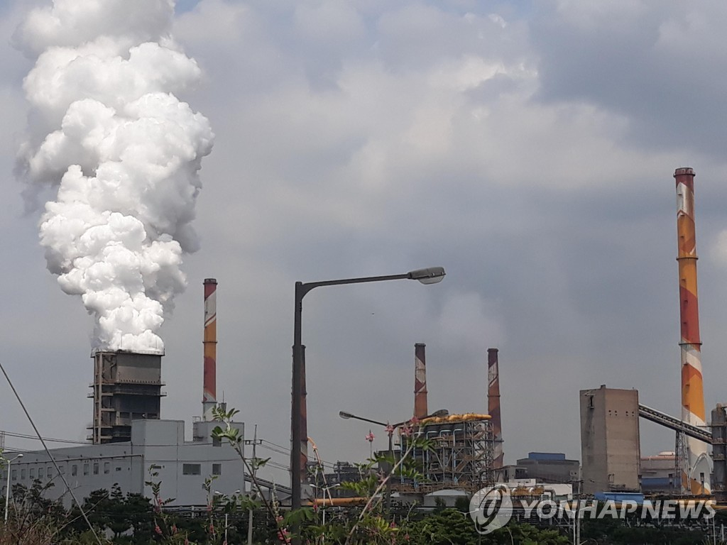 충남 대형사업장 21곳 대기오염물질 배출 감축 동참