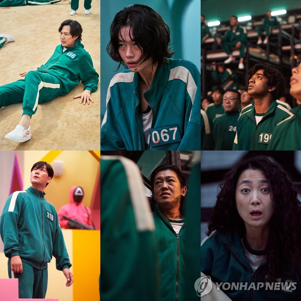 '오징어 게임' 한국 드라마 최초 미국 넷플릭스 1위 돌풍