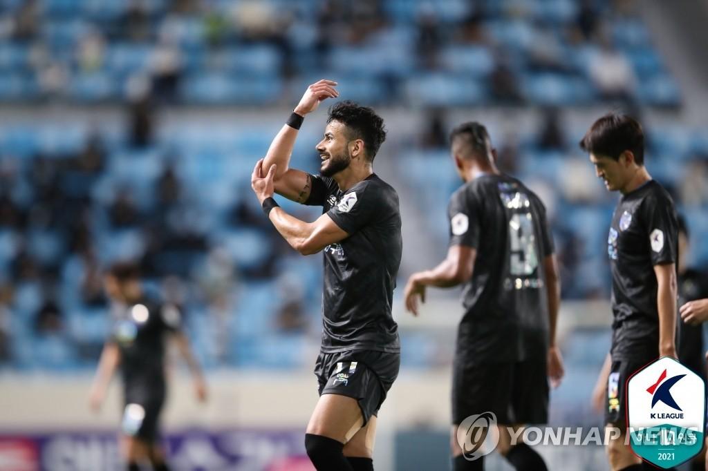 '울산전 1골 1도움' 대구 세징야, K리그1 30라운드 MVP