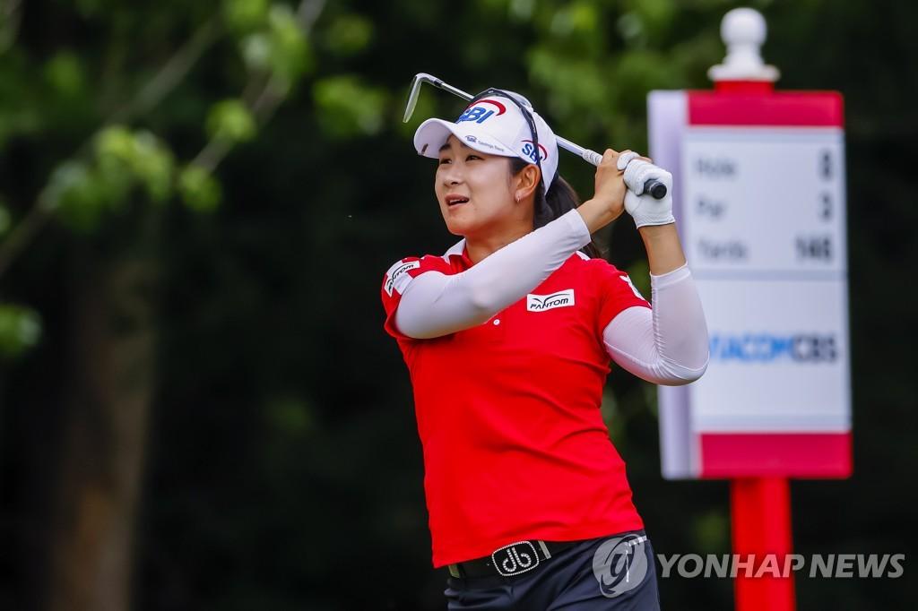 지은희·김아림, LPGA 아칸소 챔피언십 1R 선두…고진영 29위