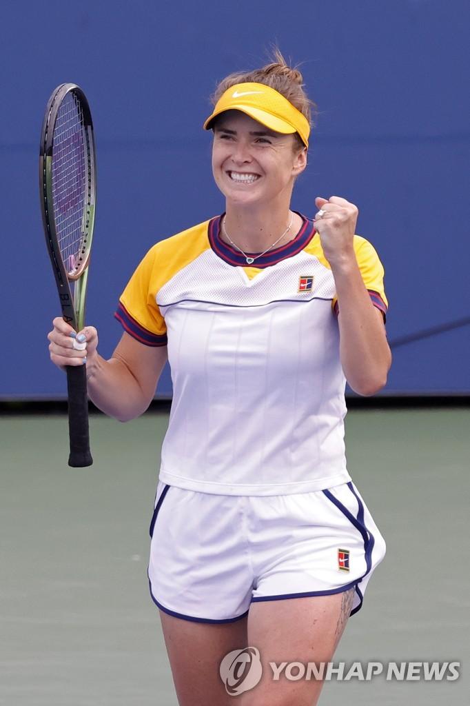 스비톨리나 vs 할레프, US오픈 테니스 16강서 격돌