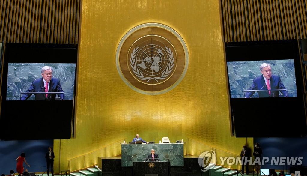 유엔총회 정상연설 개막…문대통령·바이든·시진핑·첫날 발언