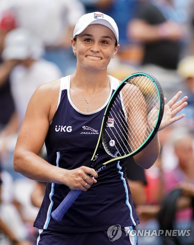 세계 1위 바티·19세 라두카누, US오픈 테니스 2회전 안착