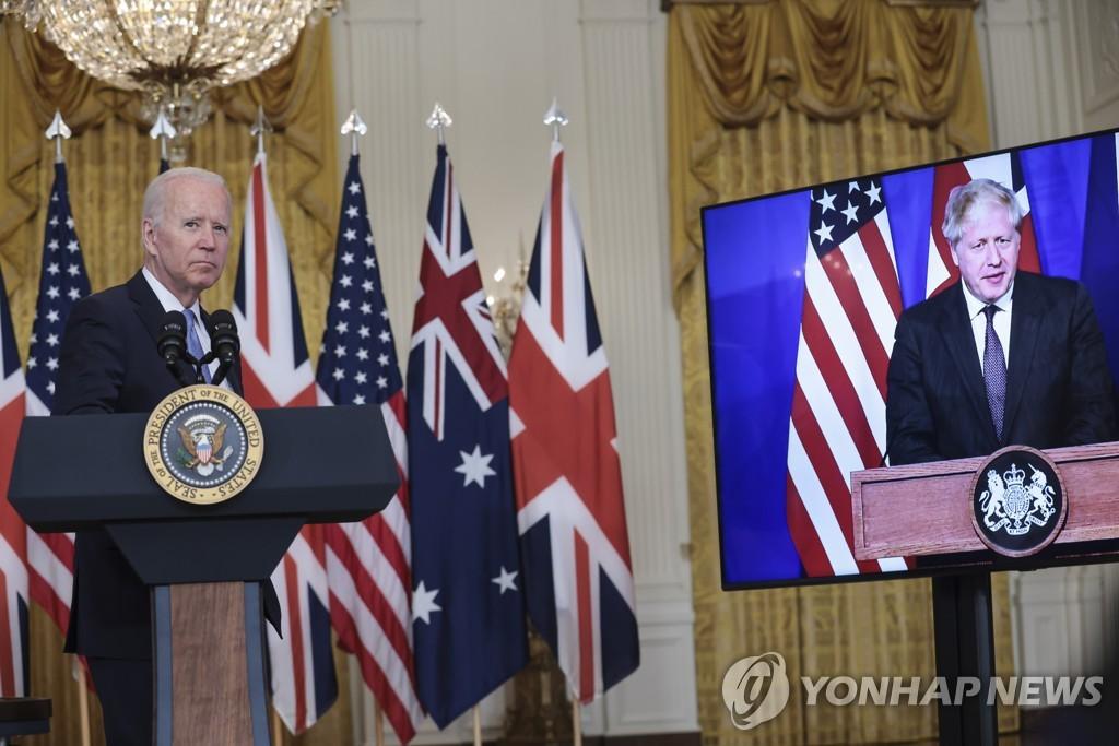 바이든·존슨, 내주 백악관서 정상회담…대중국 견제 강화
