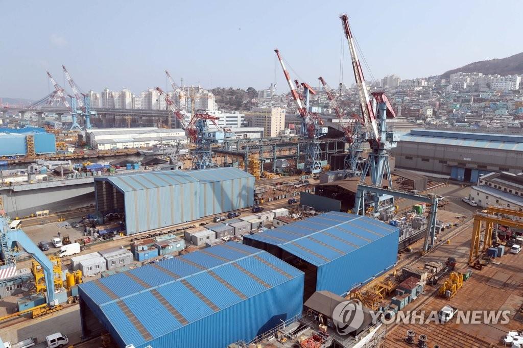 재도약 선언 조선1번지 한진중공업…중대형 상선 특수선 주력(종합)