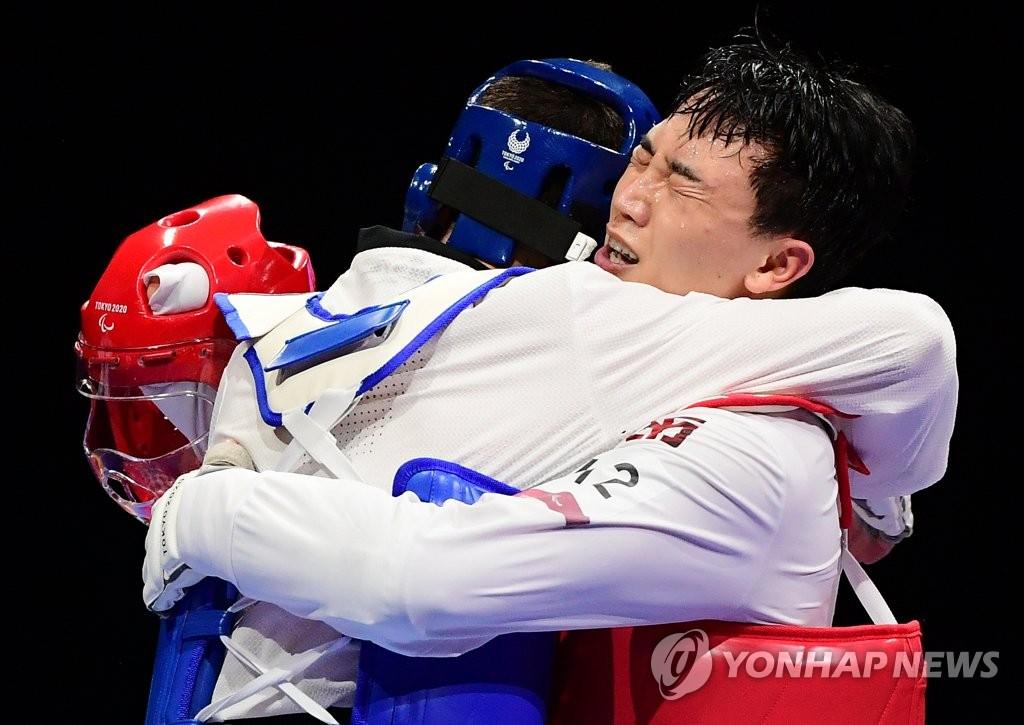 -패럴림픽- 주정훈, 남자 75㎏급 동메달…한국 태권도 최초 메달