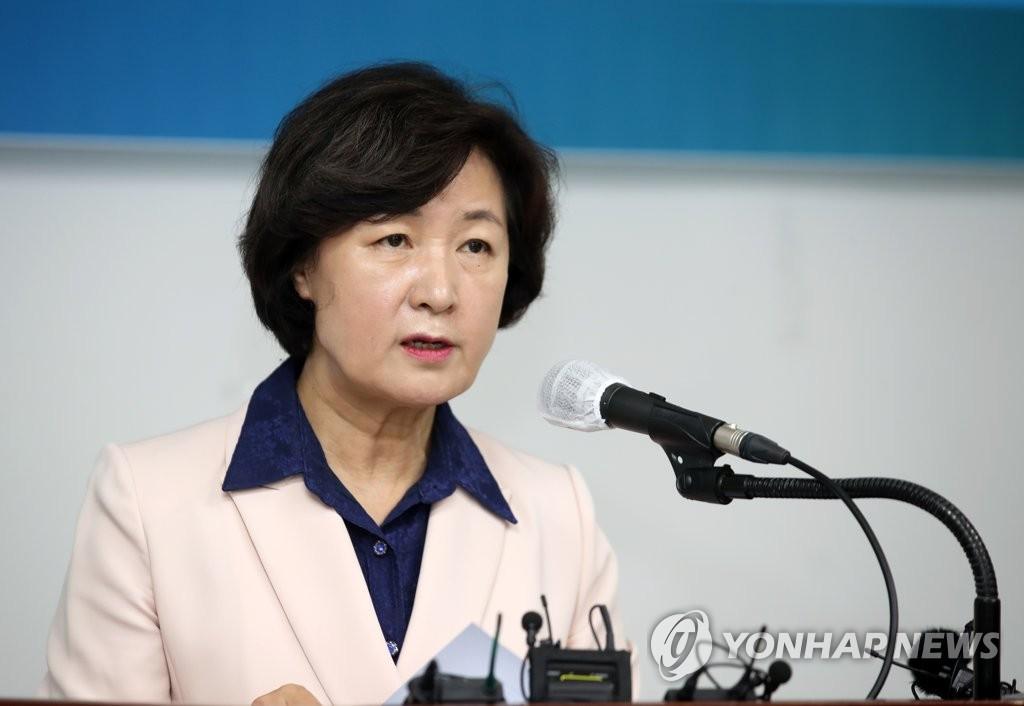 """추미애 """"네거티브와 무책임 대명사가 민주당 얼굴 안돼"""""""