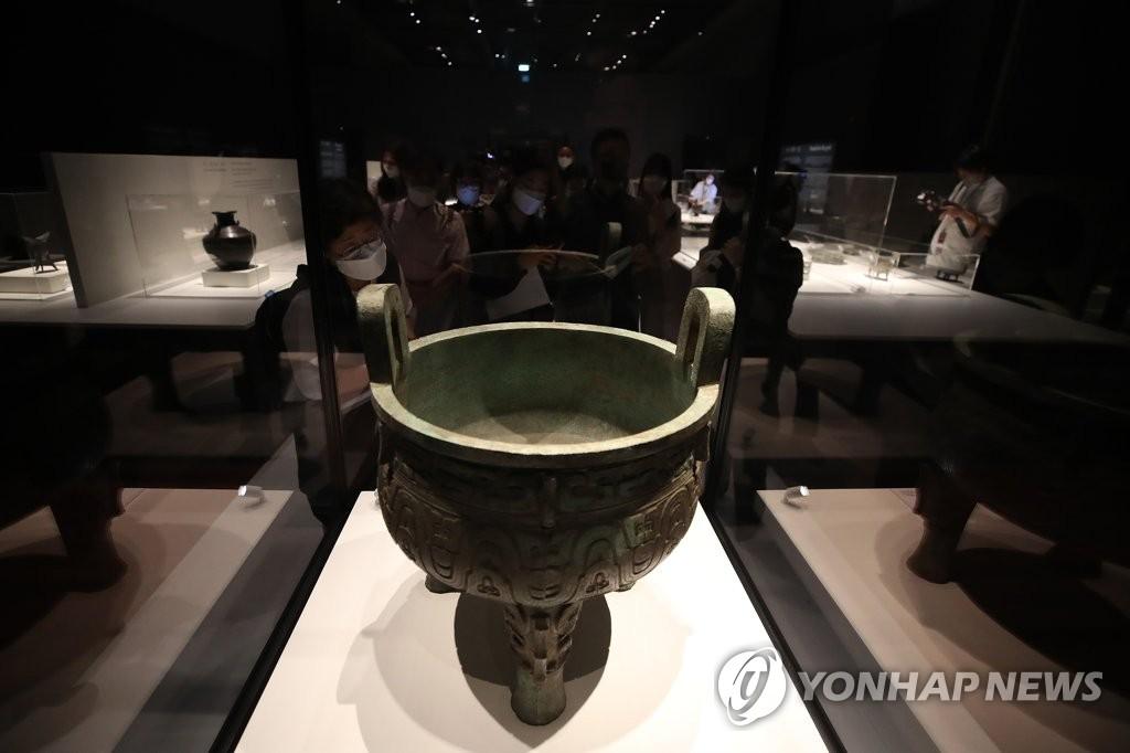 황하문명이 낳은 보물…중국 고대 청동기 67점을 만나다(종합2보)