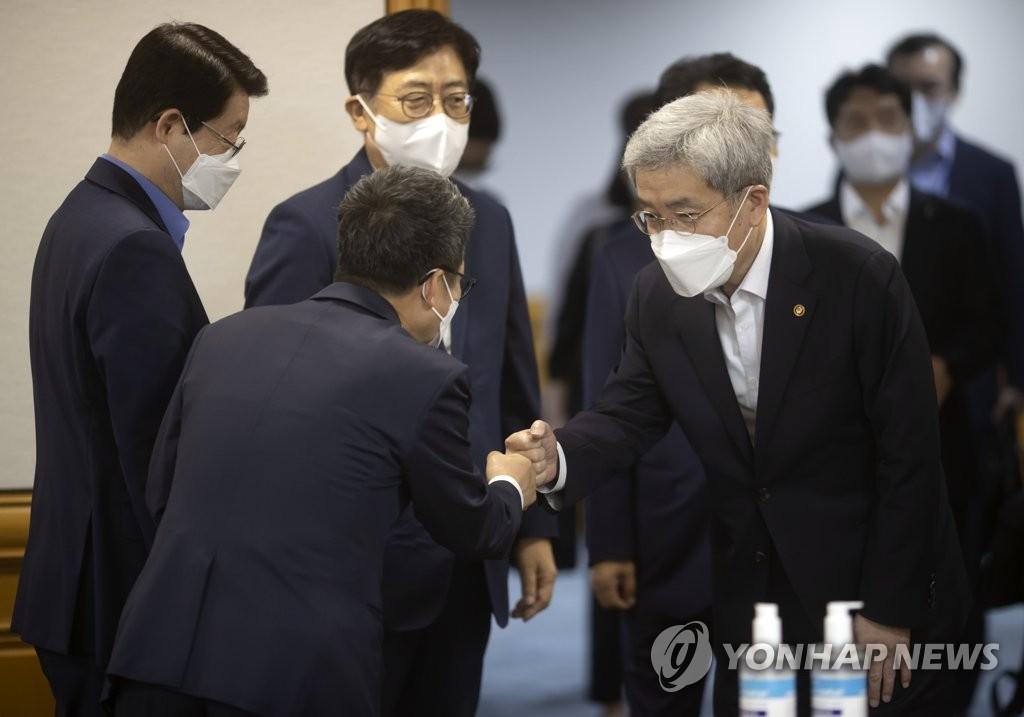 """고승범 """"대출규제, 전세·집단대출 실수요자 피해없게 검토""""(종합)"""