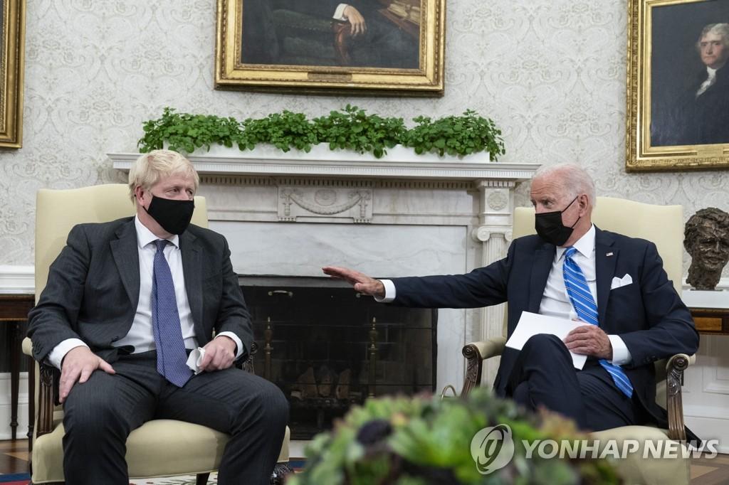 미, 오커스 동맹과 밀착…프랑스와 다자회담은 불발(종합)