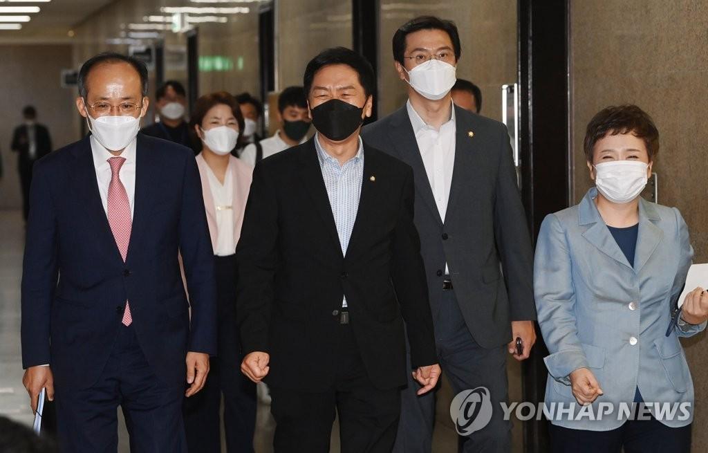 """대장동 특검 꺼낸 野…""""1원도 안받았다면서 왜 피하나"""""""