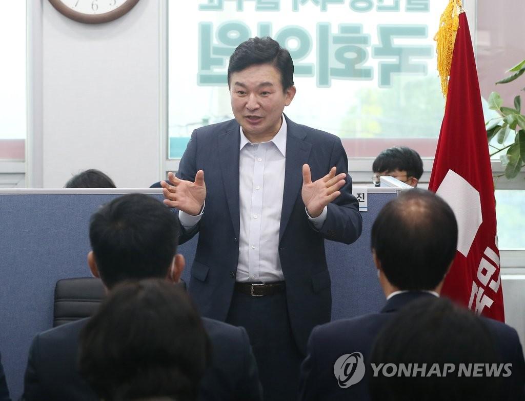 """원희룡 """"경선 4강 가면 '원팀' 중심 역할 하겠다"""""""