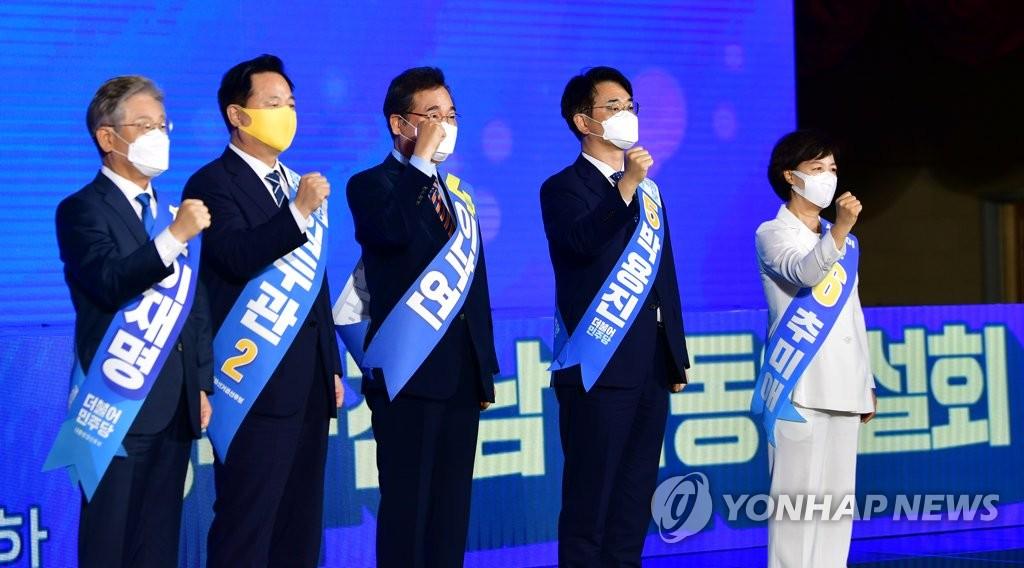 [1보] 이낙연, 광주·전남서 첫 승…권리당원 47.1% 득표