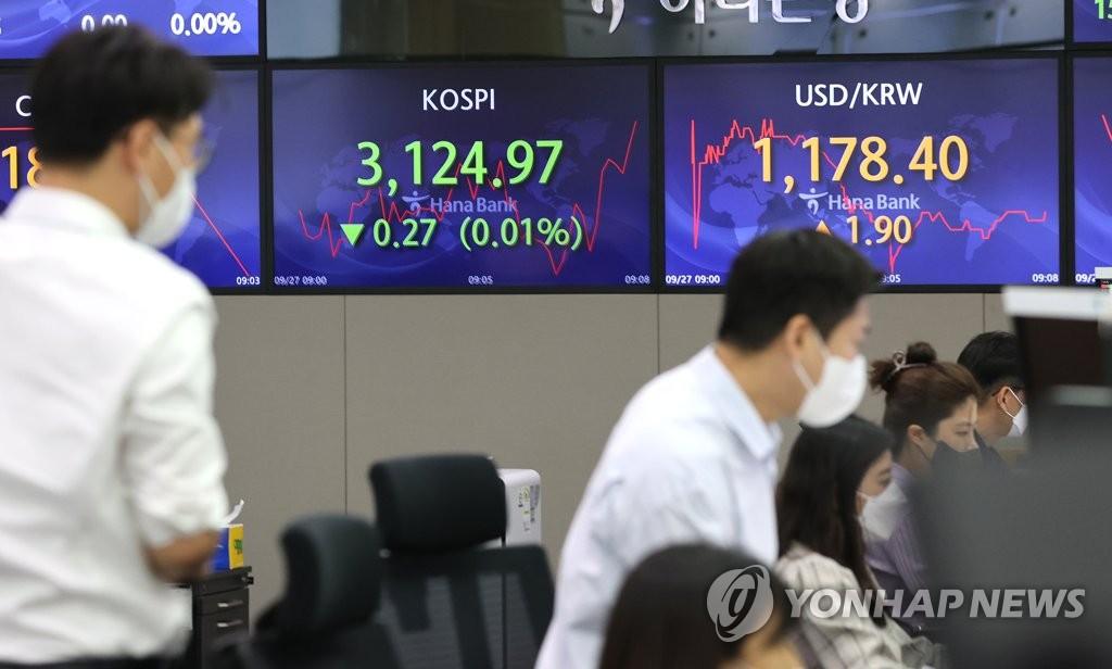 원/달러 환율 보합권 마감…1,176.8원