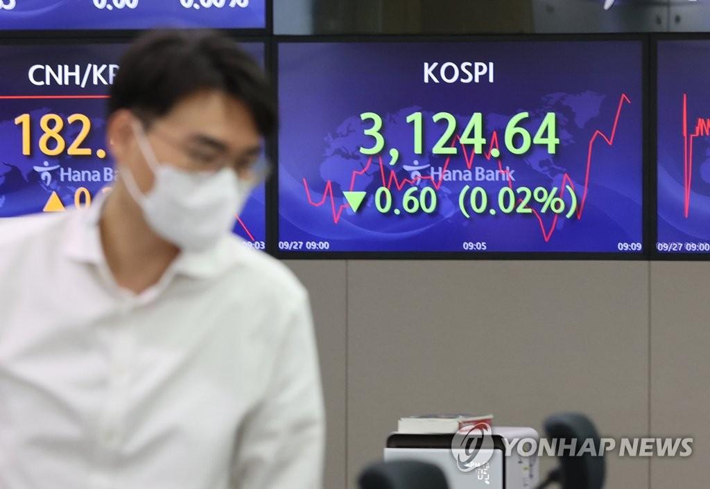 코스피 0.27% 상승…외국인 8일 연속 순매수(종합)