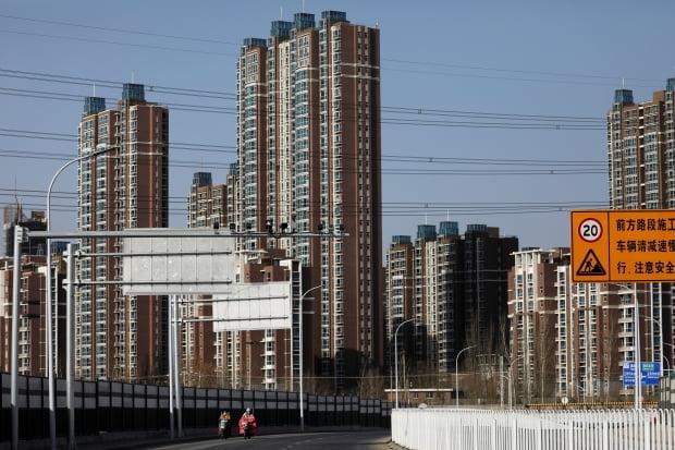 중국 베이징의 한 아파트단지. 사진=REUTERS