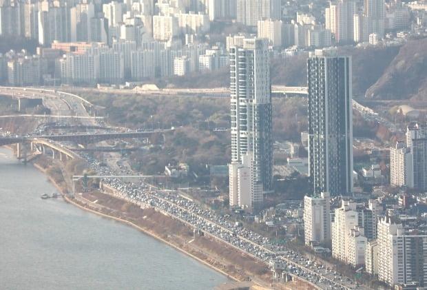 최고 전셋값 아파트로 꼽히는 서울 성동구 성수동 트리마제 전경. / 사진=뉴스1