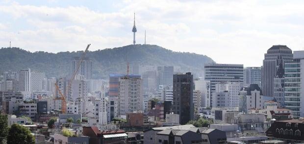 서울 시내의 오피스텔 밀집 지역 모습. /뉴스1