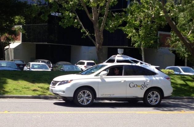 2013년 구글 인턴 때 고우종씨가 처음 본 자율주행차 프로토타입